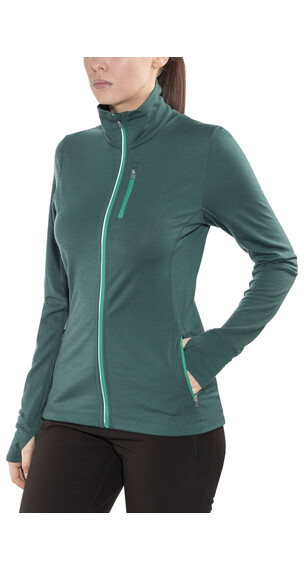 Icebreaker Rush sweater Dames petrol